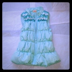 Faded Glory Girls Puffer Vest Jacket size 4-5